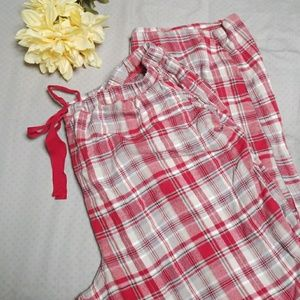 Cold water Creek plaid pajama pants
